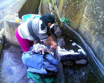 Lavandaia al fosso